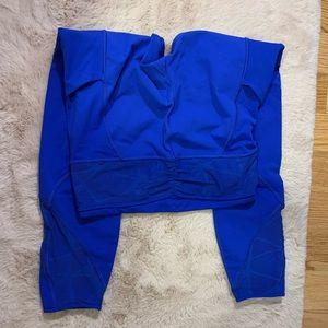 Lululemon Size 6 Lace Side Pockets Leggings